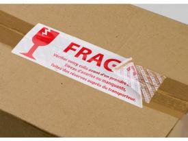 Techno-Logic® guarantee label for boxes and packages