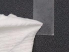 Velcro adhesive label